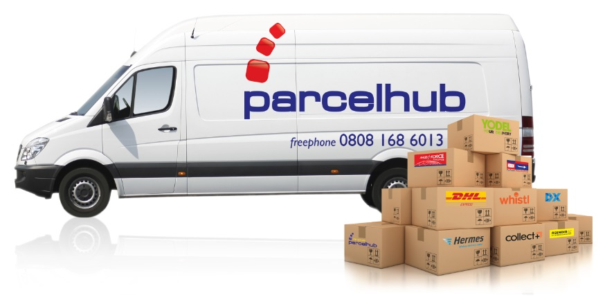 Multiple carrier consolidator for parcels