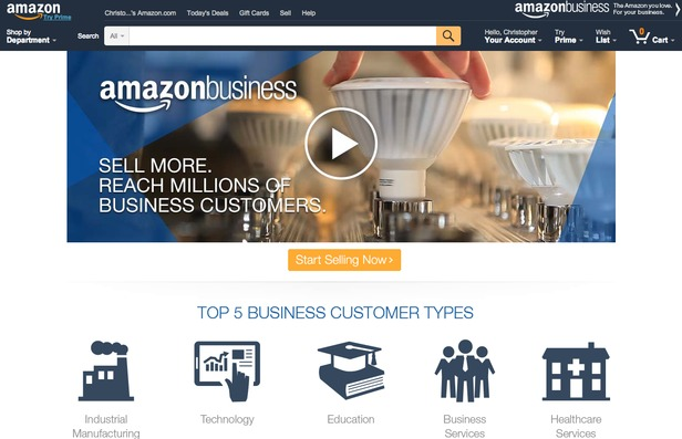 Amazon B2B Marketplace will hopefully come to the UK