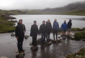 Parcelhub and Mail Workshop climb three of the highest peaks in England for charity
