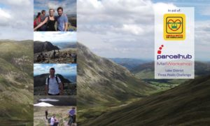 Lake District Three Peaks Charity Challenge for Lincs & Notts Air Ambulance
