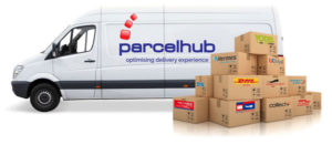 Parcel shipping notification software