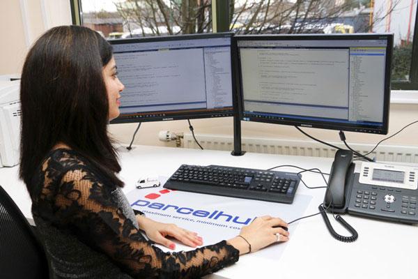 Parcel delivery management software
