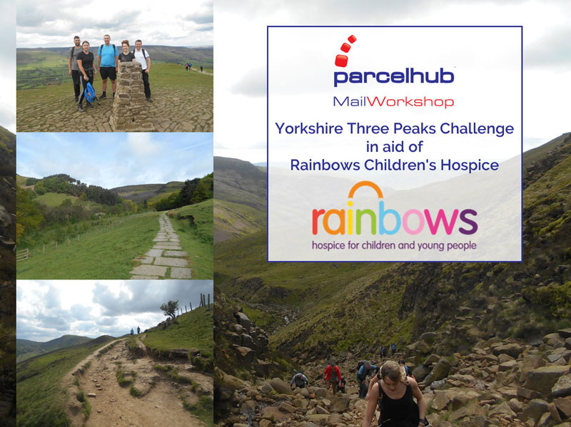 Parcelhub and Mail Workshop Yorkshire Three Peaks Challenge