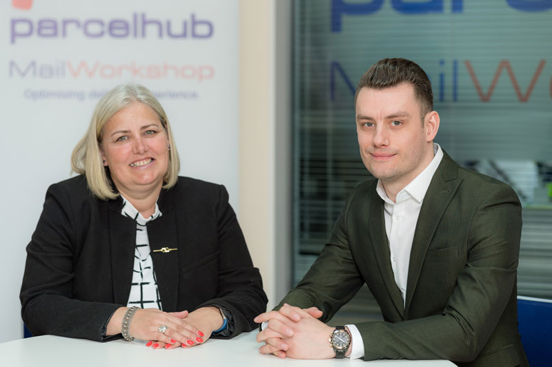 Parcelhub e-commerce shipping and customer services account management team