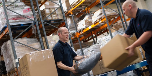 Ecommerce warehouse operatives