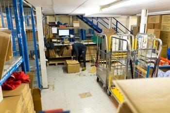 shipping from eu warehouse