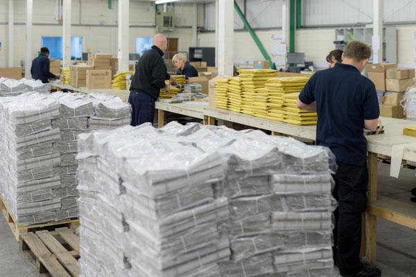 International print distribution for ad agencies