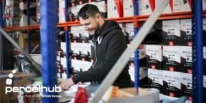 label processing for online retailers delivering parcels from or into the uk