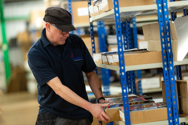 Magazine fulfillment center UK 2019