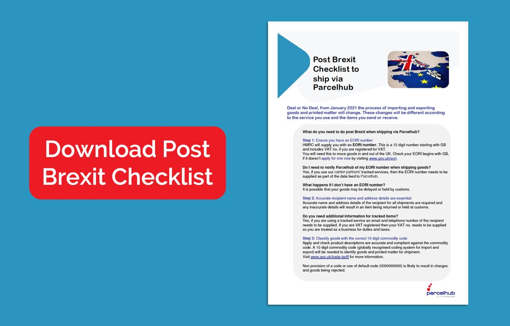 Post Brexit Checklist for eCommerce Shipping from the UK