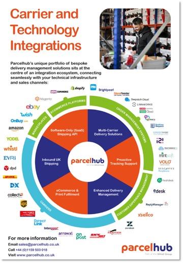 fact sheet integrations ecosystem parcelhub uk