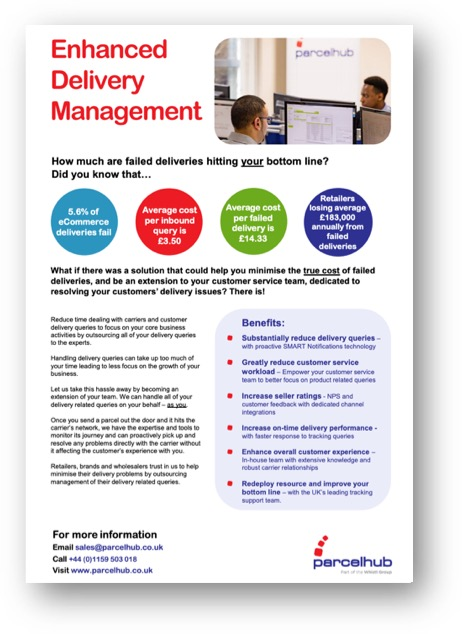 enhanced delivery management fact sheet